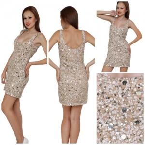 Sequin Beaded Short Dresses - Manufacturer & Exporters