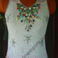 Beaded Embroidery Work - Evening Apparel