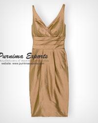 Shantung Silk Dress Manufacturer