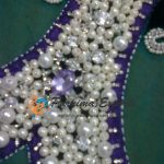 Crystal and Pearl bead work