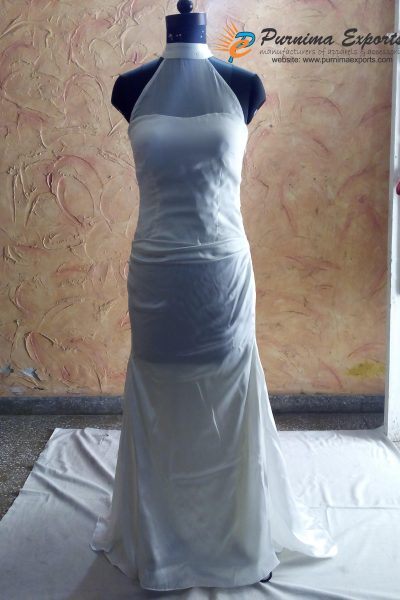 Beautiful Silk Bridal Gowns Manufacturer