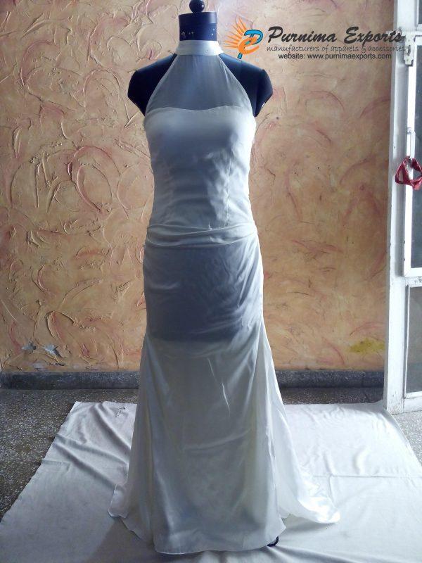 Beautiful Silk Bridal Gowns Manufacturer