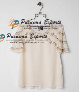 Manufacturer of Silk Blouses