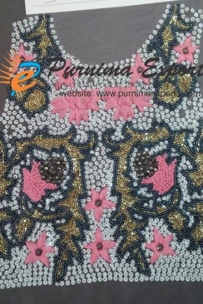 Panel embroideries for Designers