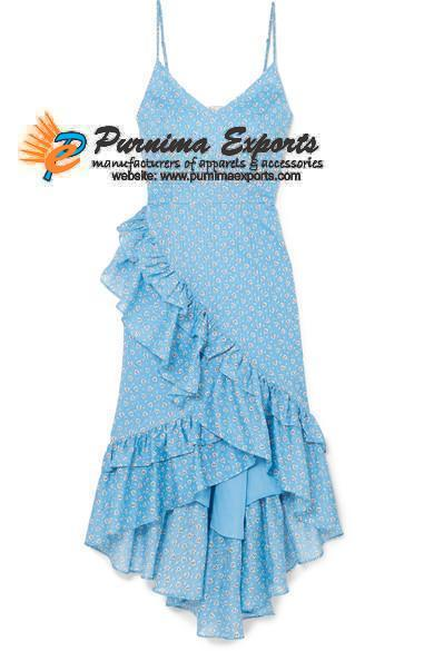 Printed Cotton Dresses Manufacturer